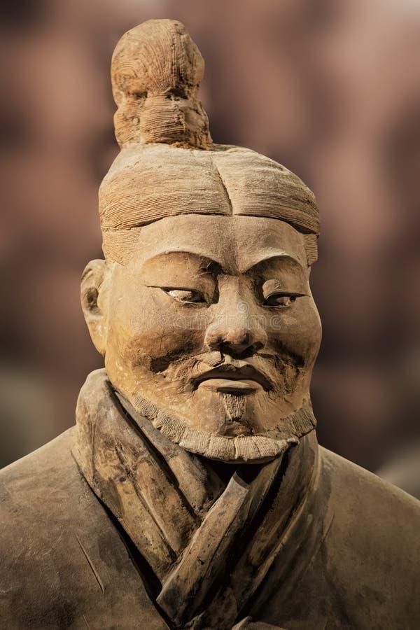 在陕西历史博物馆的秦始皇兵马俑展览 县 凯爱 库存图片