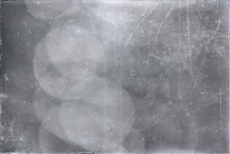 在难看的东西样式的黑灰色水表面背景 抽象da 免版税库存照片