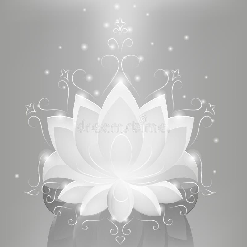 在霓虹抽象白色的背景光滑的莲花深圳市ui招聘六合无绝对片