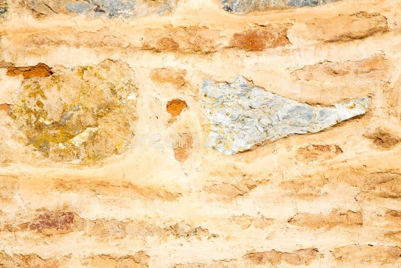 在非洲摩洛哥构造墙壁老桃红色 库存例证