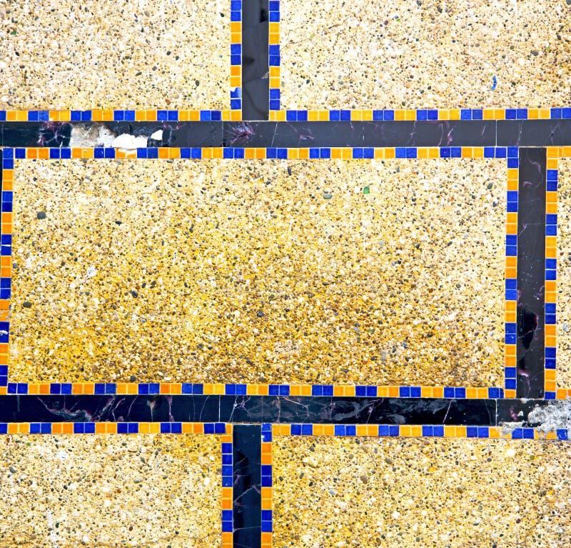 在非洲摩洛哥构造墙壁老砖建筑concre 库存例证