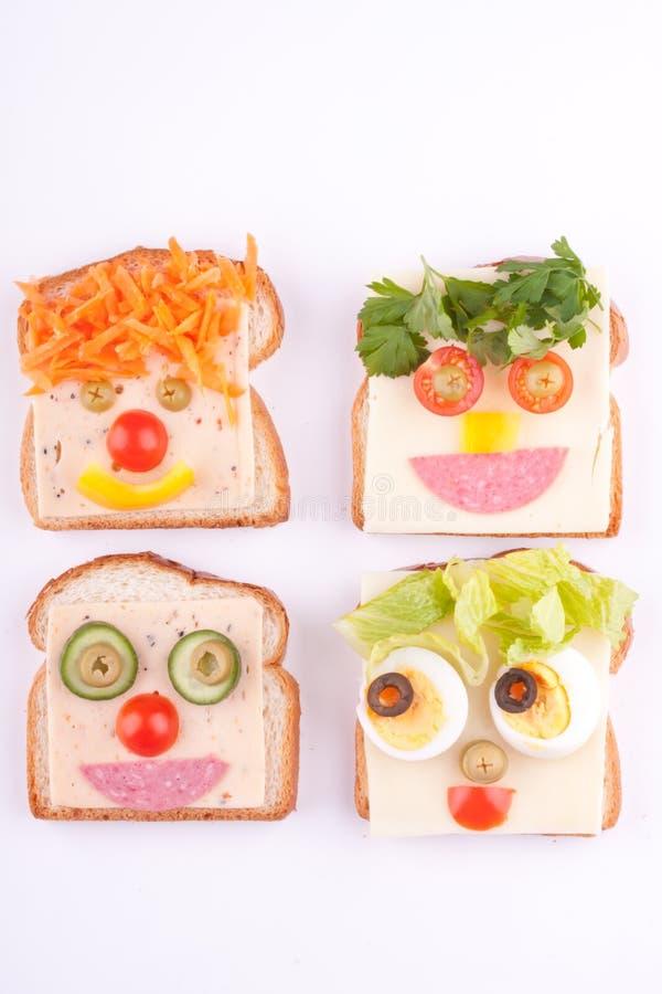 在面包的表面 免版税库存图片