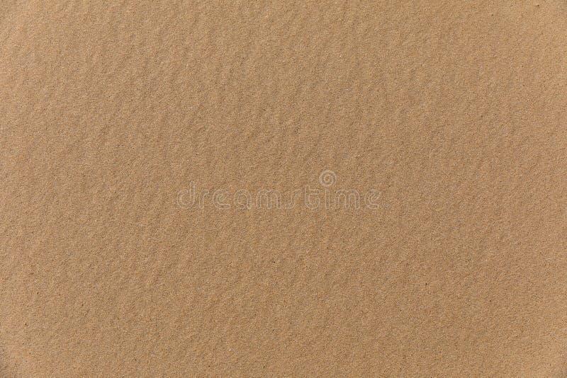 在顶视图的沙子纹理 免版税库存图片