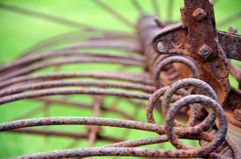 在领域的农机 免版税图库摄影
