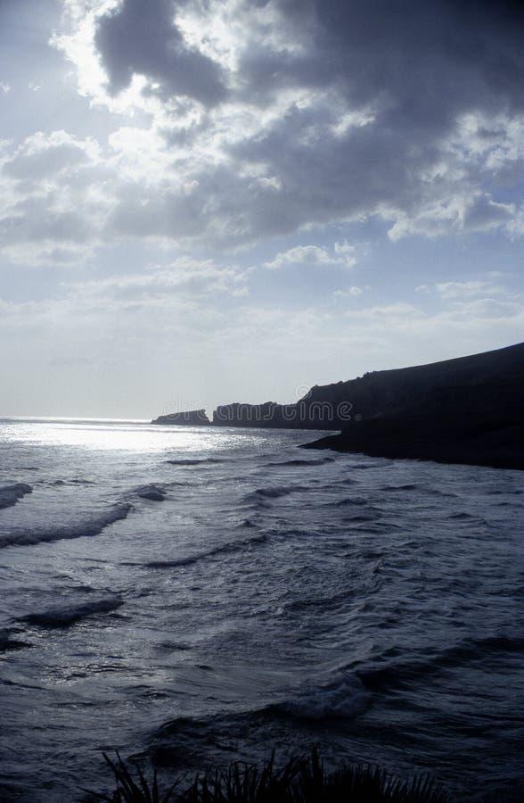 在风暴花费的Maiorca 库存照片