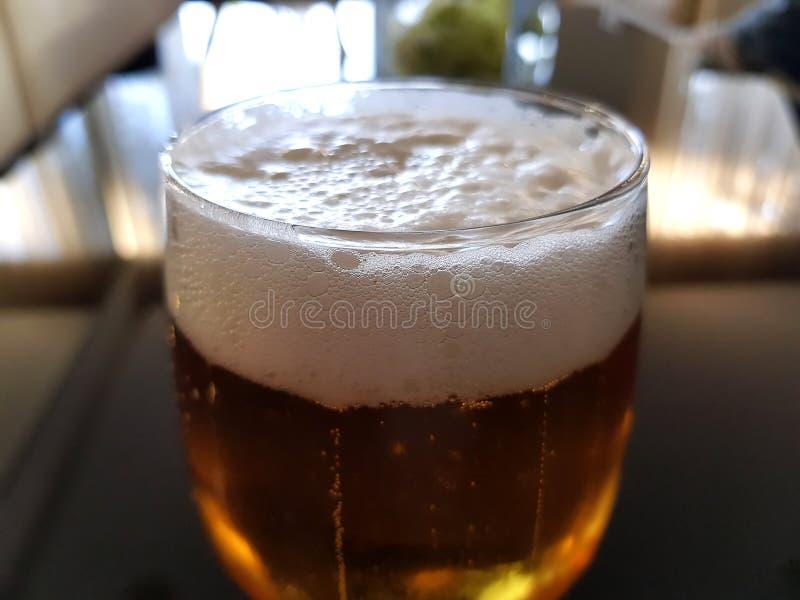 在餐馆的汽水在马略卡 免版税库存图片