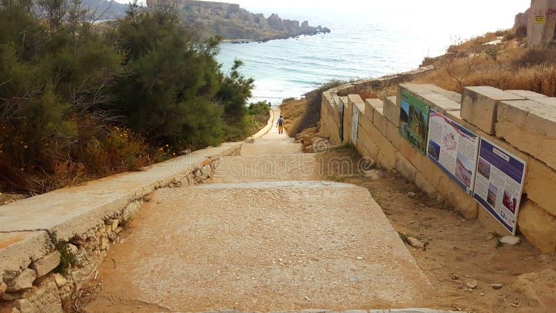 在马耳他4的一天 库存图片