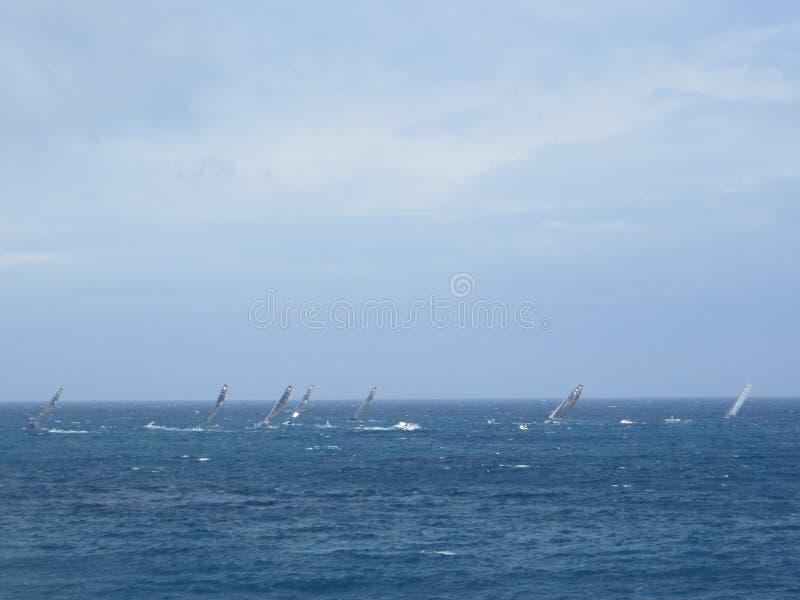 在马耳他的赛船会 库存图片