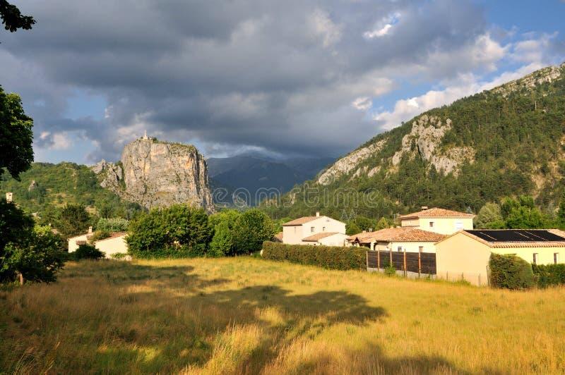法国阿尔卑斯乡下 免版税库存图片