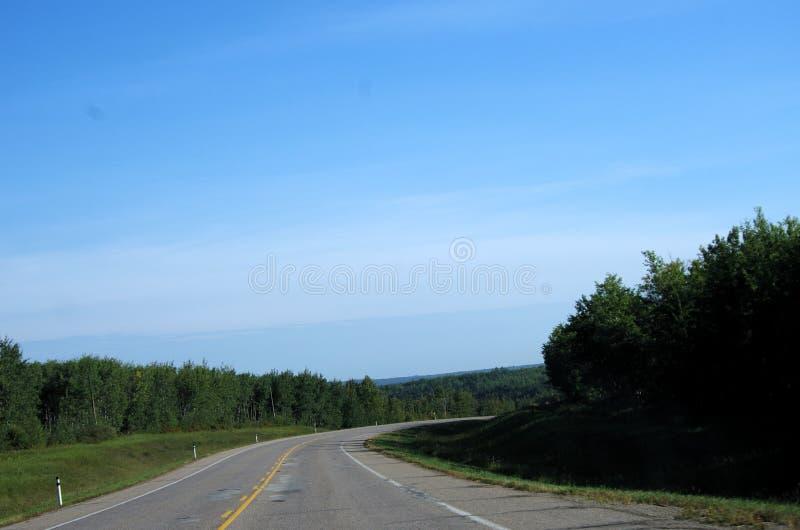 在高速公路下 免版税库存照片