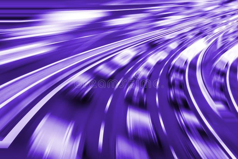 在高速公路的速度 库存图片