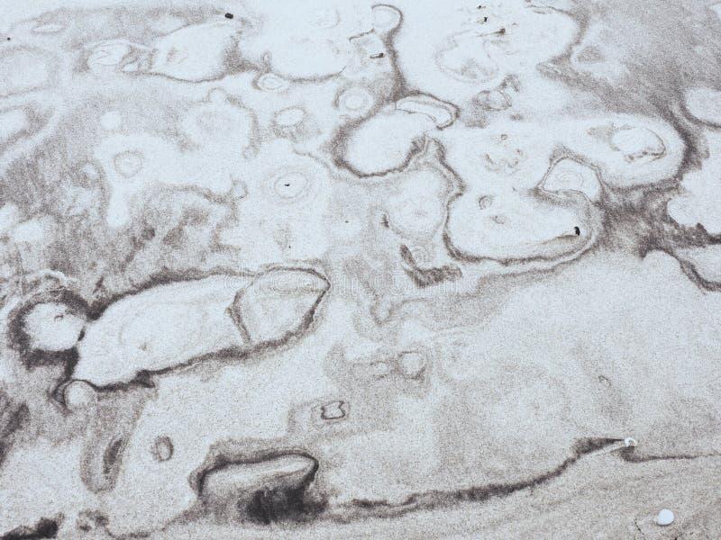在黄沙的沉淀自然图象 免版税库存图片