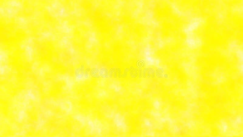 在黄色背景背景的白色斑点  免版税库存图片