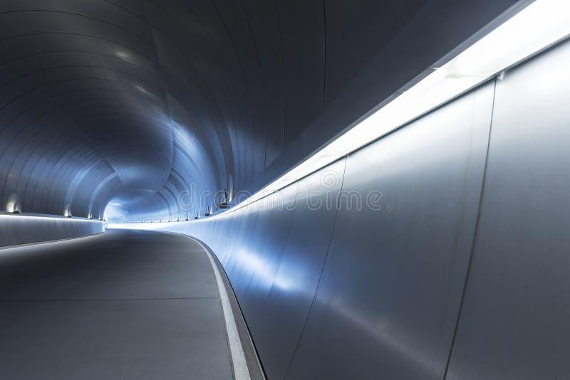 未来派隧道 库存图片