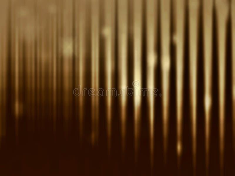 在黑暗的被弄脏的背景的金子 r 皇族释放例证