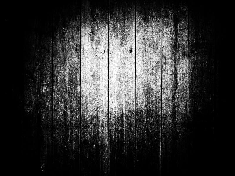 在黑白的木样式纹理 免版税库存照片