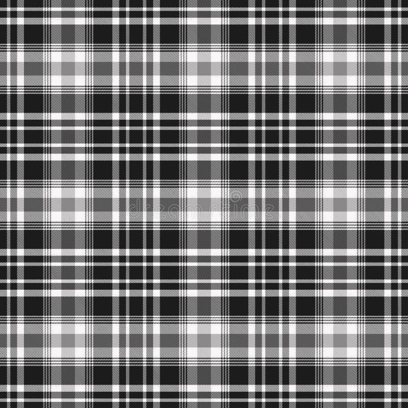 在黑白的格子呢样式 格子花呢披肩的,桌布,衣裳,衬衣,礼服,纸,卧具,毯子,被子纹理和 皇族释放例证