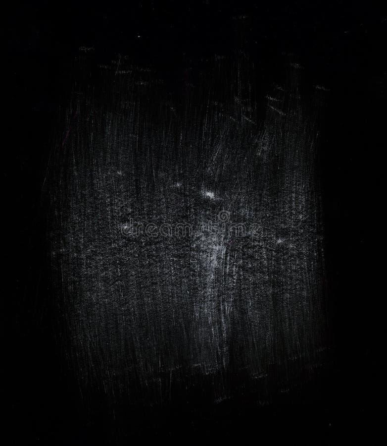 在黑色背景的抽象形状和要素 免版税图库摄影