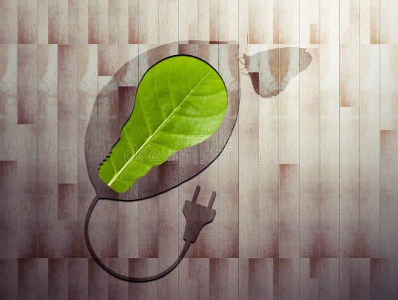 在1上的Eco 库存照片