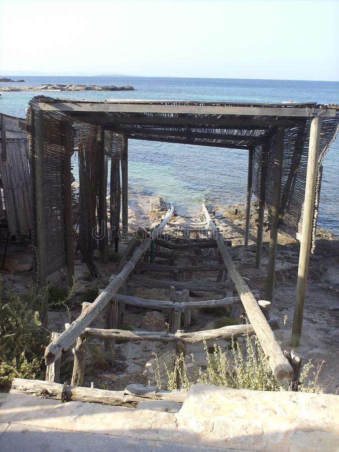 在巴利阿里群岛 免版税库存照片