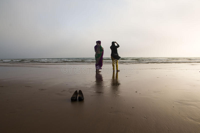 在2016年在阿加迪尔市靠岸在摩洛哥 图库摄影