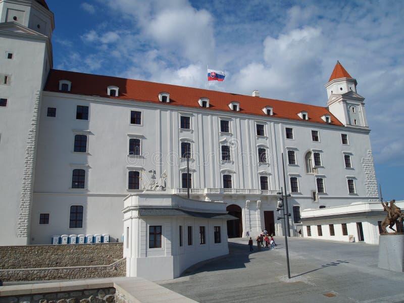 在2016年布拉索夫-斯洛伐克的首都 库存照片