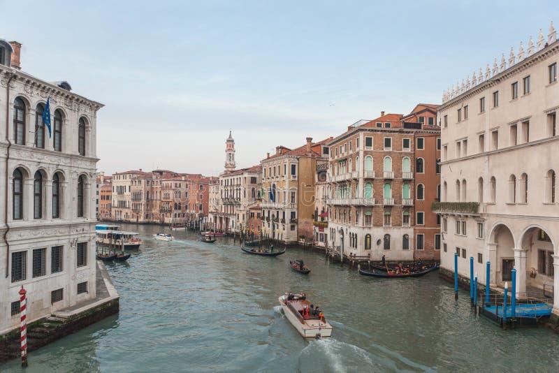 在2018年旅行在威尼斯 图库摄影