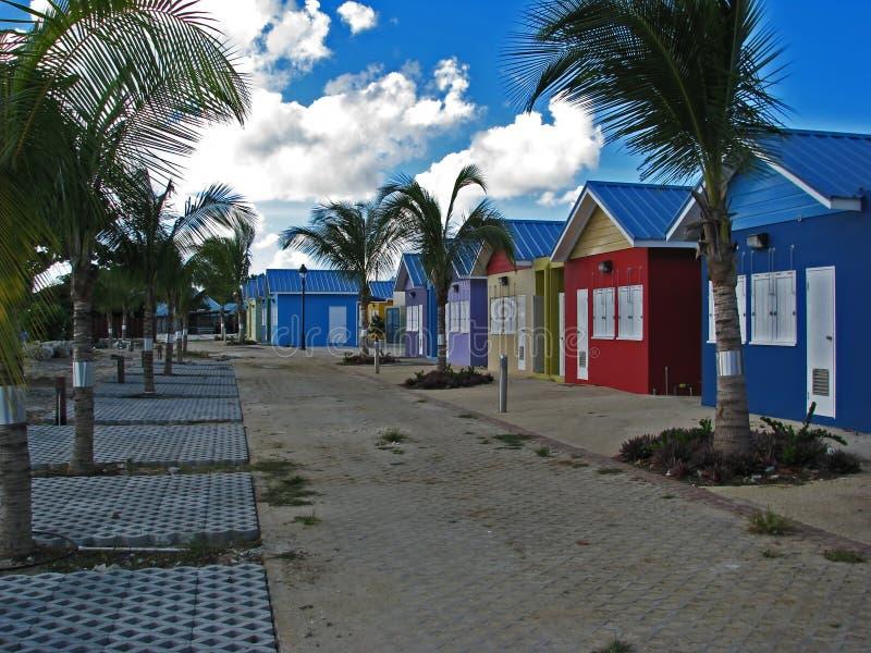在2007年新的Oistins海湾庭院在巴巴多斯 图库摄影