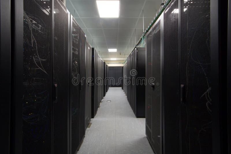 在黑机架的通讯工具 库存照片