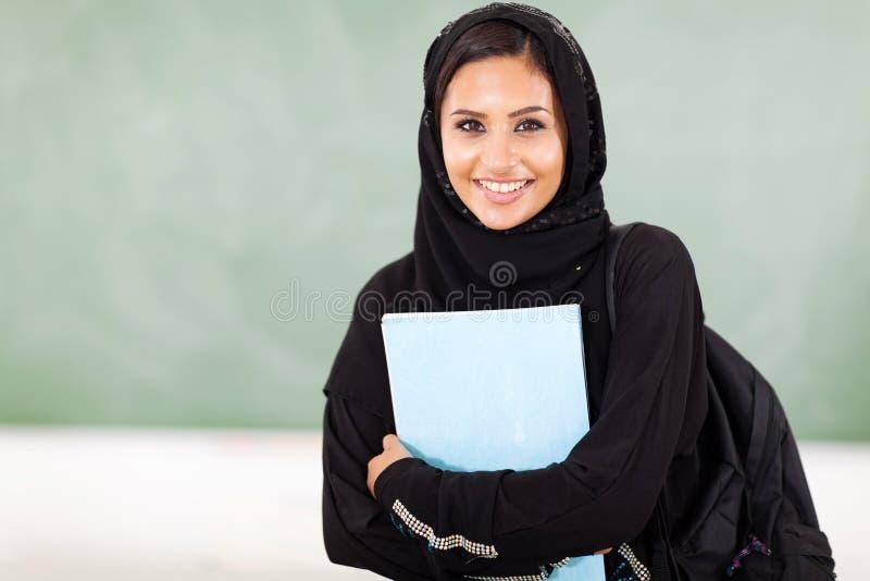 中东学生 库存图片