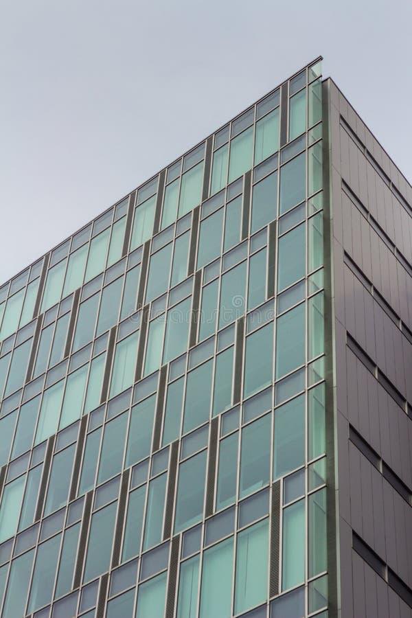 在今池市附近的大厦 免版税库存照片