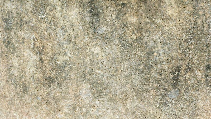在水泥墙壁上的布朗砖 图库摄影