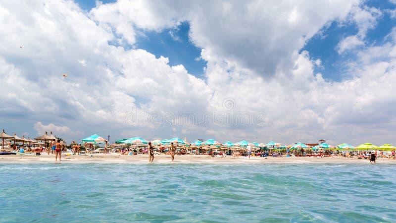 在黑海的夏天 库存图片