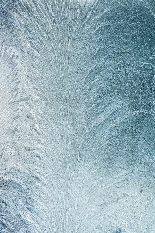 在玻璃-背景的冷淡的样式 免版税图库摄影