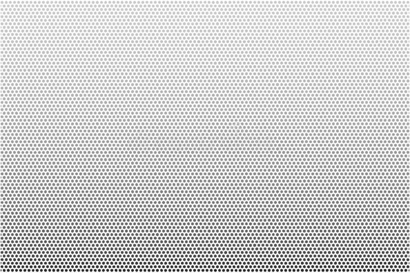 在黑白的抽象背景传染媒介 向量例证