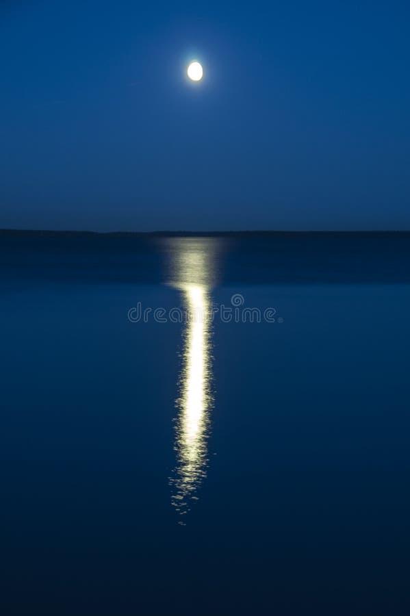 在水的月球行走 库存照片