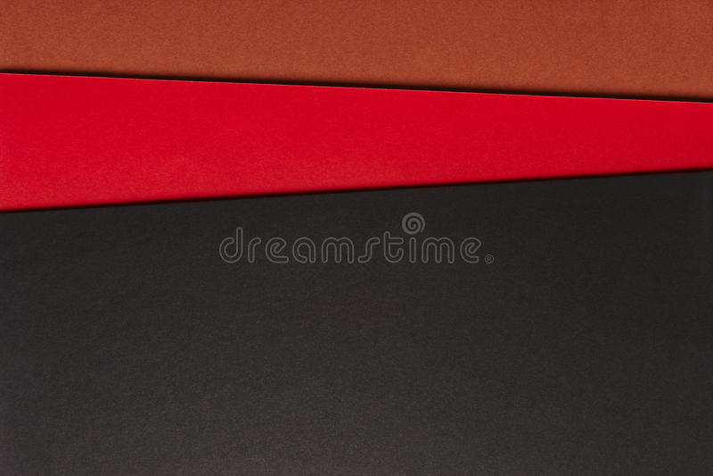 在黑红褐色的口气的色的纸板背景 复制Spac 库存图片