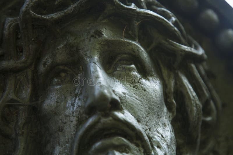 在1787年纪念碑的片段对耶稣基督的从它的创作 图库摄影