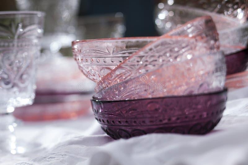 在紫色的桃红色 免版税库存图片