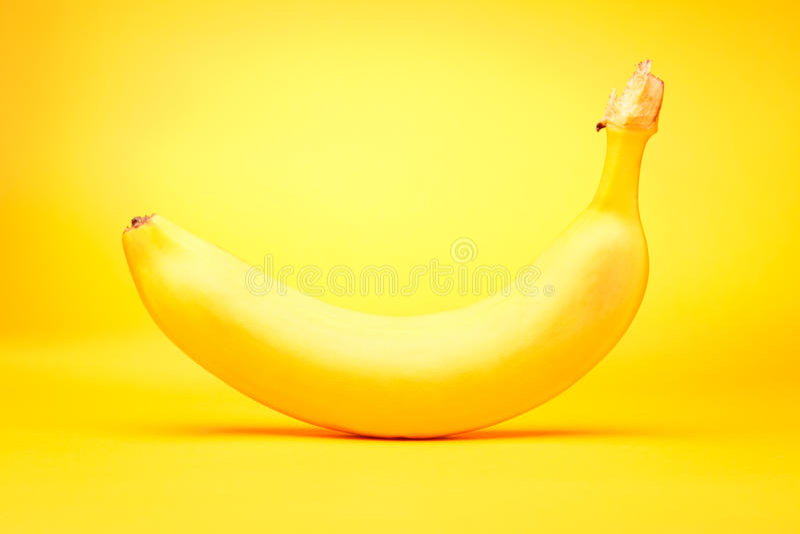 在黄色的香蕉 图库摄影