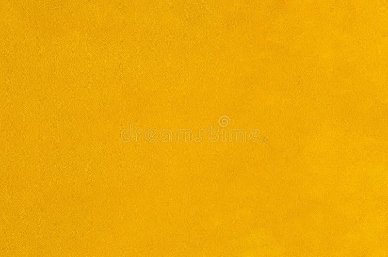 黄色皮革 库存图片