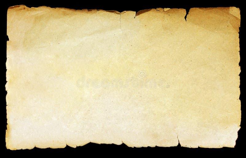 葡萄酒纹理老纸 免版税库存照片