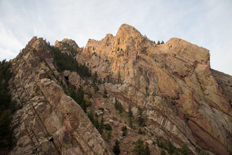 在黄金国峡谷的峭壁 免版税图库摄影