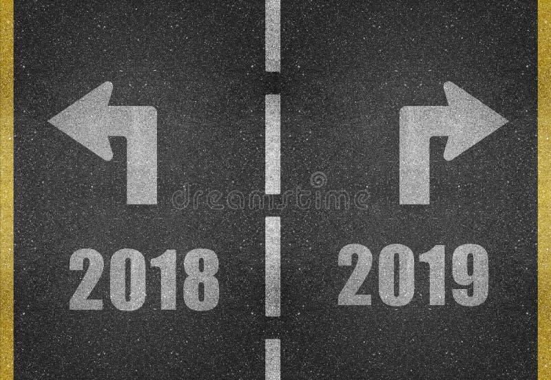 在2018年除夕概念 向量例证