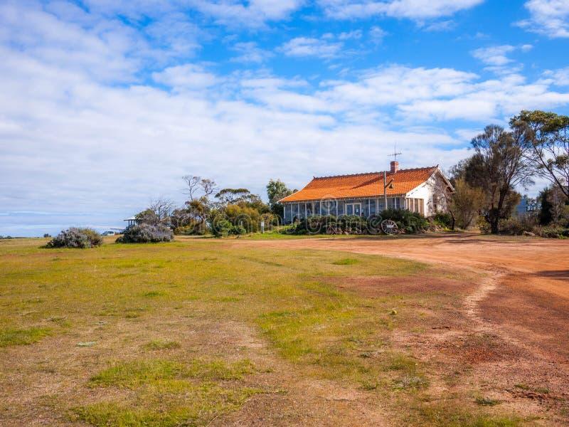 在Amelup百合荷兰风车的Vistor中心在澳大利亚 免版税图库摄影