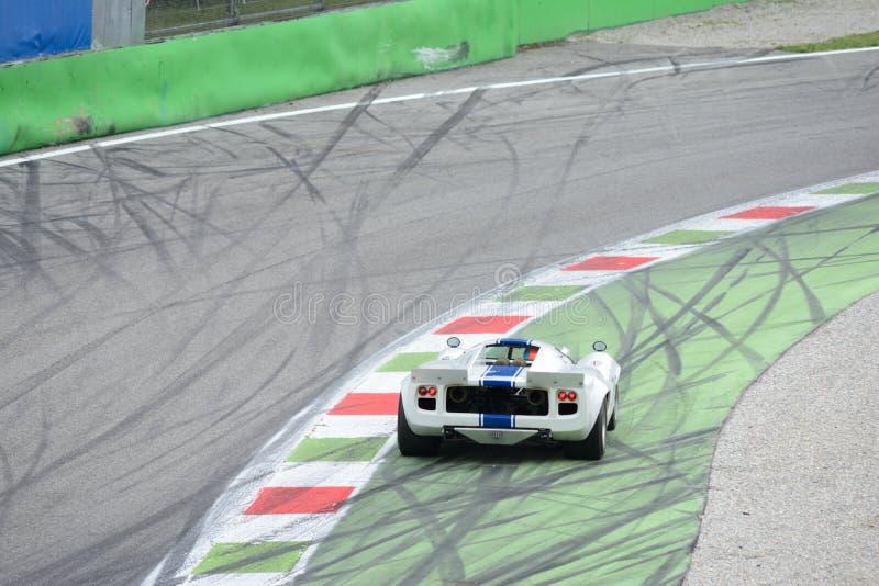 在Ascari诈骗的洛拉Mk III coupé 库存图片
