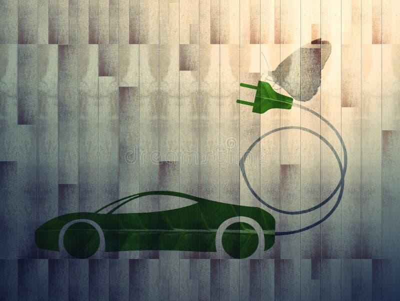 在b1上的Eco汽车 库存照片