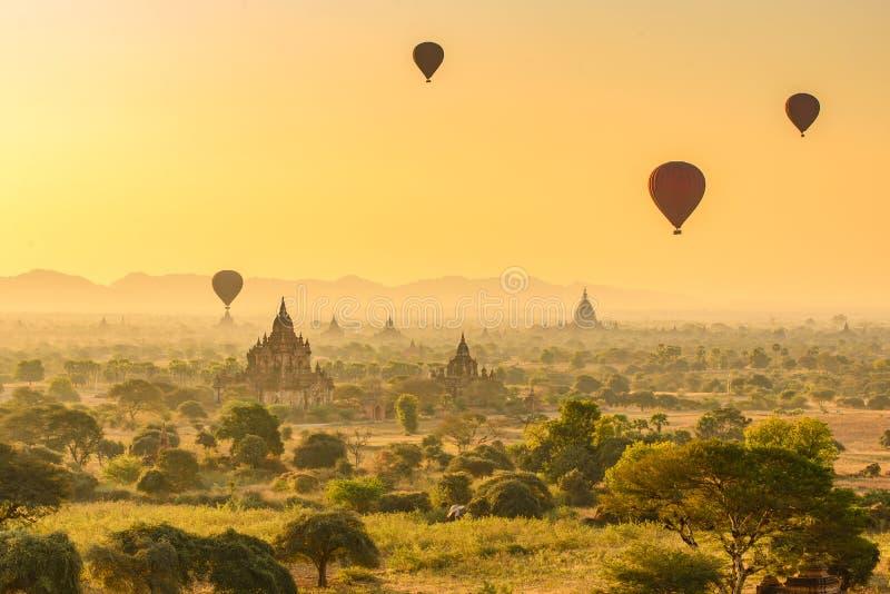 在Bagan的早晨 免版税库存照片