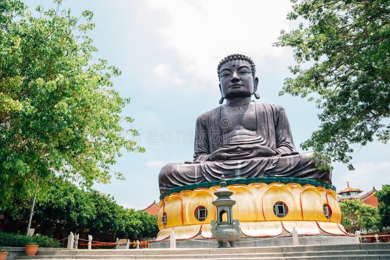 在Baguashan的菩萨雕象在彰化,台湾 免版税图库摄影