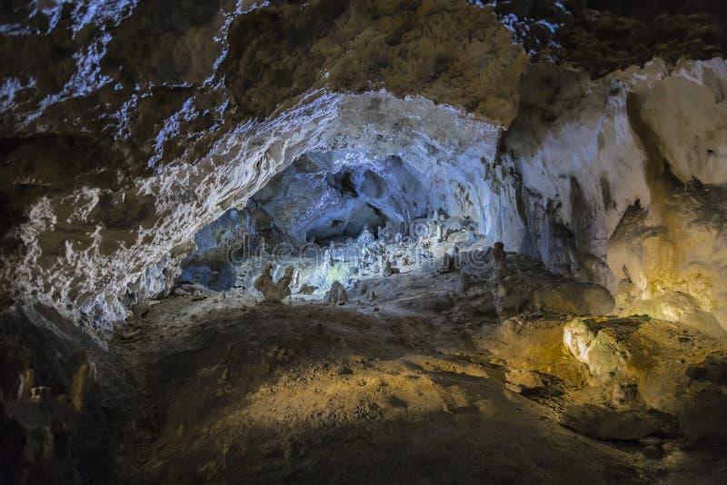 在Belianska洞的画廊 免版税图库摄影